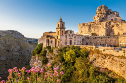 Ancient town of Matera (Sassi di Matera), European Capital of Culture 2019, in beautiful golden morning light at sunrise, Basilicata, southern Italy; Shutterstock ID 293986310; PO: redownload; Job: redownload; Client: redownload; Other: redownload