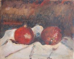 Arturo Tosi Melograni 1948 olio su tavola cm 40x50 © Frauke Stenz