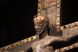 Crocifisso 1170 ca, Cattedrale di Sant'Evasio, Casale Monferrato