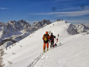 Carnia_Forni di Sopra_sci alpinismo