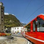 Tra Valtellina e Svizzera a bordo del Trenino Rosso patrimonio Unesco