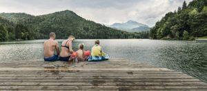 Un tuffo nei laghi alpini del Tirolo, la fresca estate di Kufsteinerland